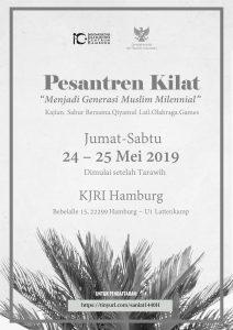 Pesantren Kilat + Buka Bersama Ust. Luthfi @ KJRI Hamburg