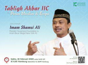 Tabligh Akbar Imam Shamsi Ali @ KJRI Hamburg